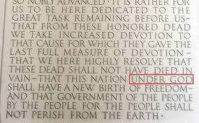Lincoln Memorial_Under God