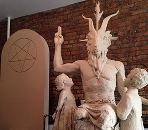 Satan Monument