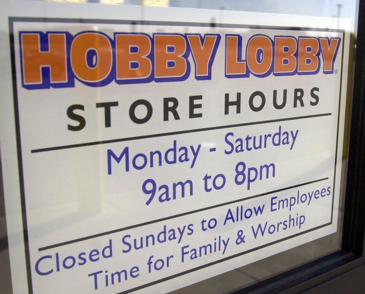Hobby Lobby Sign