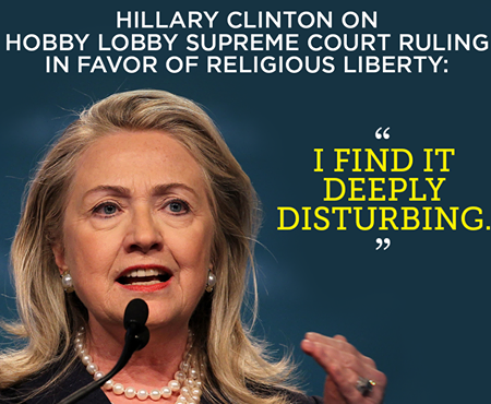 hillary clinton_religious freedom