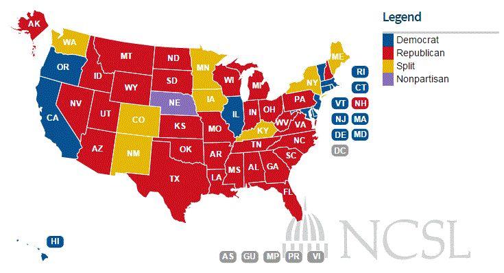 2014 electeion map