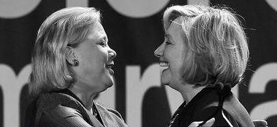 Hillary and Landrieu