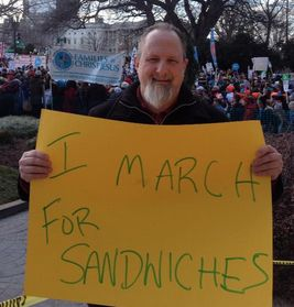 I March for Sandwiches