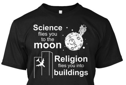 science flies you to the moon