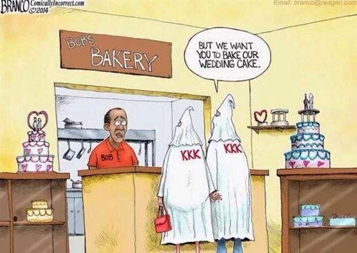 Black Baker and KKK