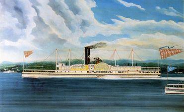 vanderbilt's steam boat
