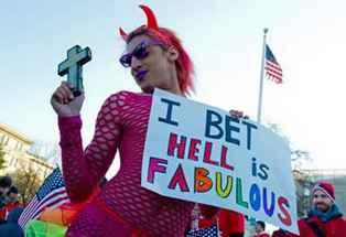 Devil homosexual