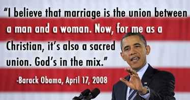 Obama Meme same-sex marriage