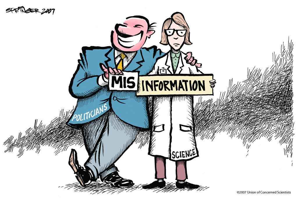 misinformation_climate science