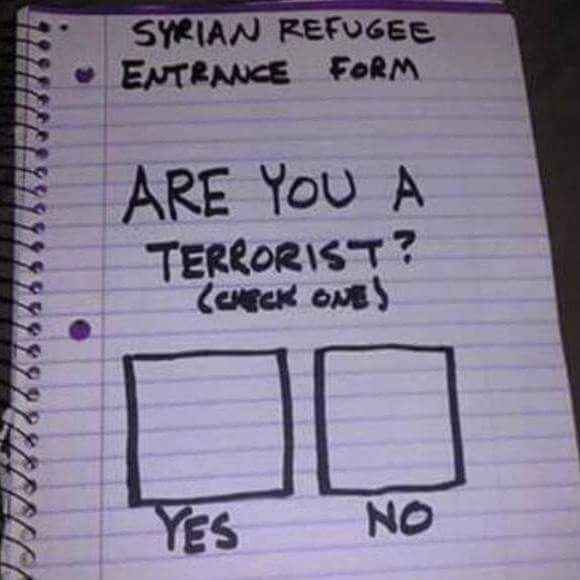 syrian refugee form