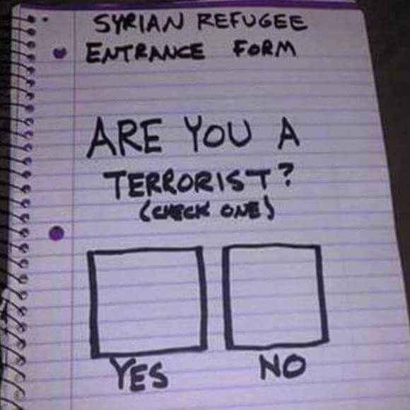syrian refugee form