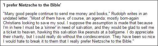 Eric Rudolf_Nietzsche Not Bible