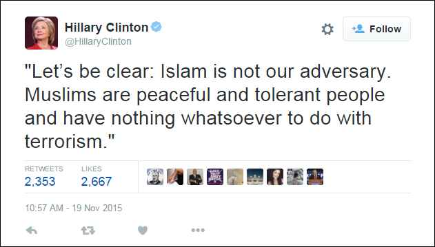 Hillary Clinton_Let's be clear