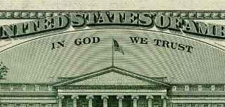 In god we trust dollar bill
