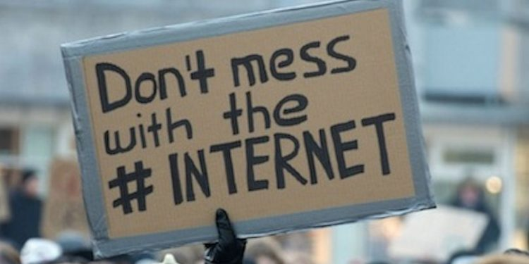 Say no to net neutrality