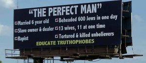 Billboard Wars: Anti-Muhammad v. Anti-Jesus